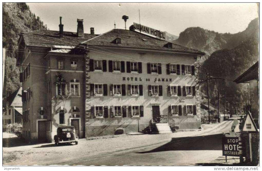 CPSM HAUT INTYAMON (Suisse-Fribourg) - Montbovon : Hôtel De Jaman - FR Fribourg