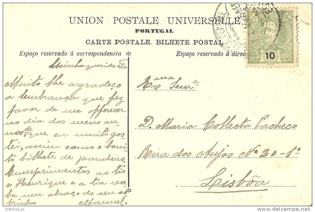 PORTUGAL - TOMAR - ACUDE DE FRADES - 1905 PC - Santarem