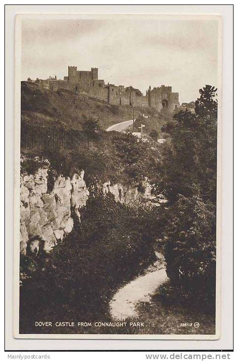 Dover Castle From Connaught Park - Dover