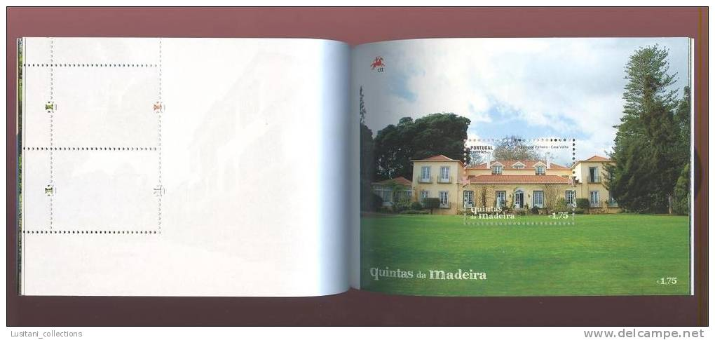 CARNET PORTUGAL MADEIRA MADÉRE 2011 EUROPA CEPT FOREST OISEAUX OISEAU BIRDS ARCHITECTURE GOLF EMBROIDERED BRODERIE - 1910-... Republic