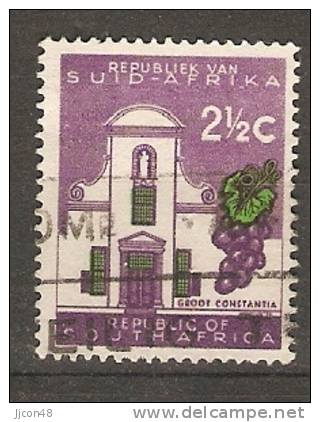 South Africa 1961  New Republic 2.1/2c  (o) Perf 14 (type II) - South Africa (1961-...)