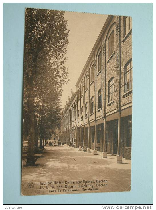 Institit O.L.V Ten DOORN Inrichting - Speelplaats / Anno 1927 ( Zie Foto Voor Details ) !! - Eeklo