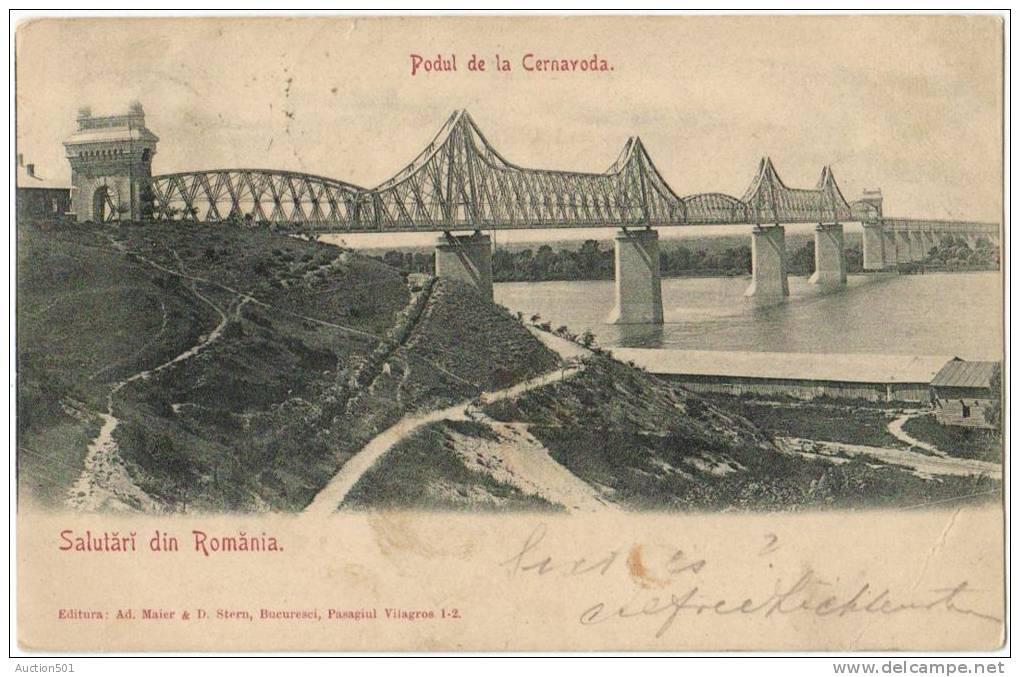 05931g ROUMANIE - Podul De La Cernavoda - Pont - 1901 - Roumanie