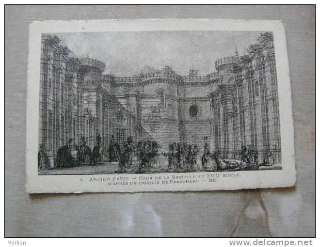 75 Ancien Paris - Cour De La Bastille  - D75583 - France