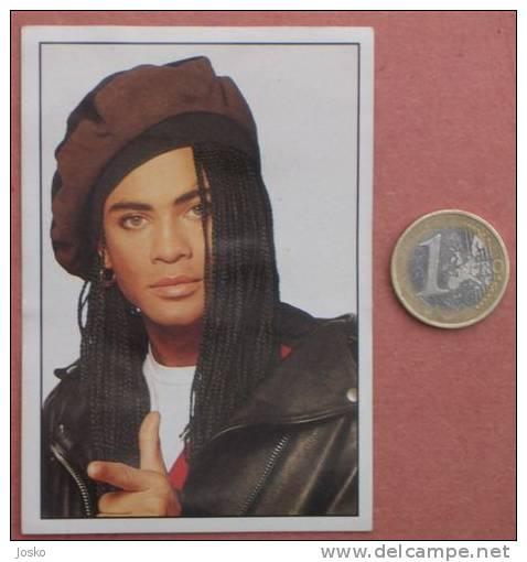 MILLI VANILLI Pop-music ( Yugoslavian Rare Collectiable Card - Sticker Smash Hits ) Rock-music Musique Musica Musik - Stickers