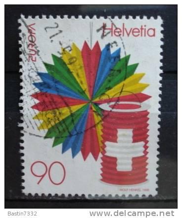 1998 Switzerland Europe,national Day Used/gebruikt - Gebruikt