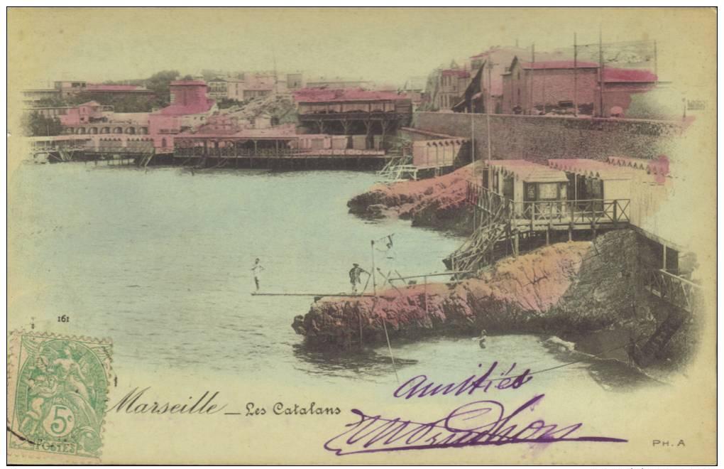 CPA Marseille: LesCatalans. - Quatieri Sud, Mazarques, Bonneveine, Pointe Rouge, Calanques