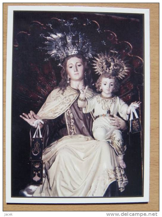 Madonna/ Virgen Del Carmen 19 Jhr Tenerife - Vergine Maria E Madonne