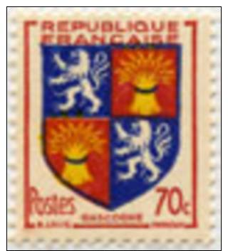 958 - Armoirie De Gascogne - Francia