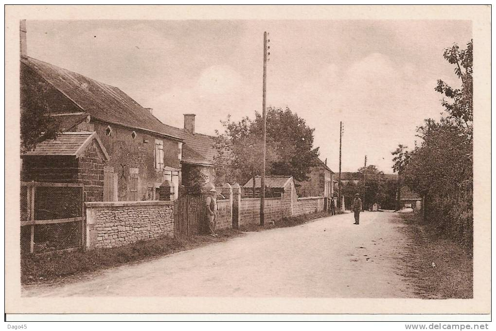 AUBIGNY-TAINGY (Yonne) - Rue Principale - Other Municipalities