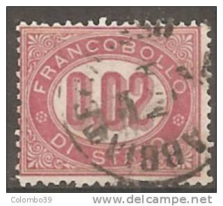 Italia Servizio Di Stato 1875 Usato - Ss. 1+2+3 - Servizi