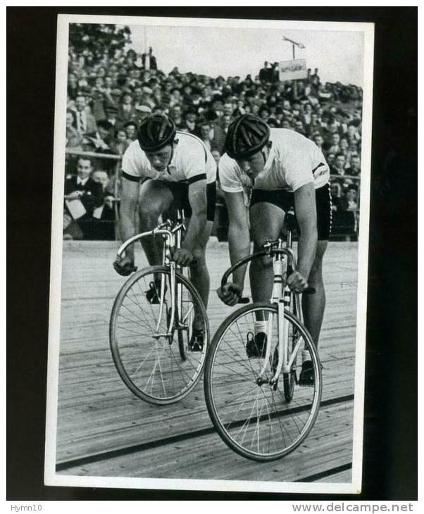DB385-SAMMELWERKE Nr.14 OLYMPIA 1936 BAND II-BILD Nr.167-Gruppe 57-Olimpiasieger MERKENS+SELLINGER-Start AUSSCHEIDUNGSL. - Radsport