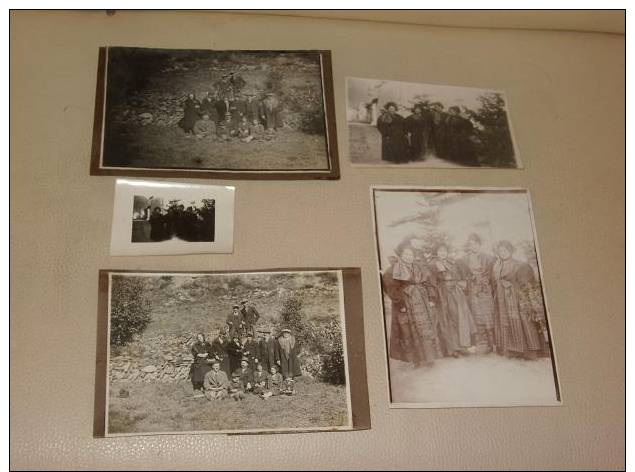 4 Photos Originales +1 Carte Photo 73 BESSANS Savoie  A Saisir - Non Classés