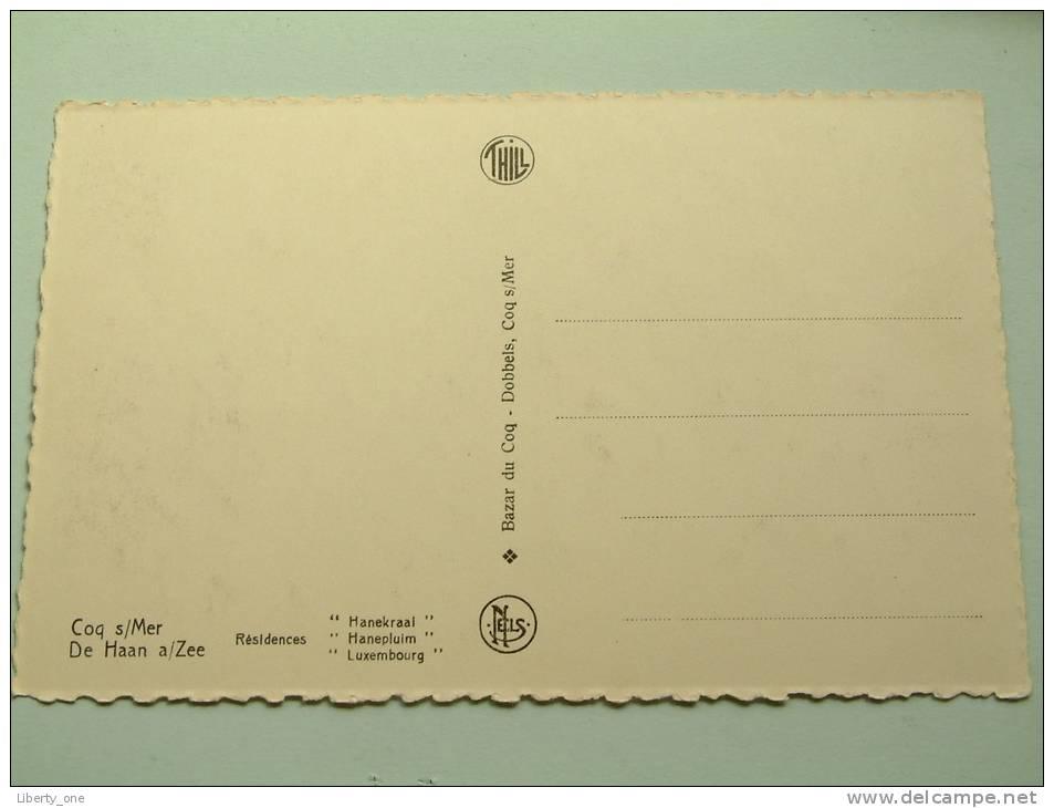 Résidences Hanekraai - Hanepluim - Luxembourg / Anno 19?? ( Zie Foto Voor Details ) !! - De Haan