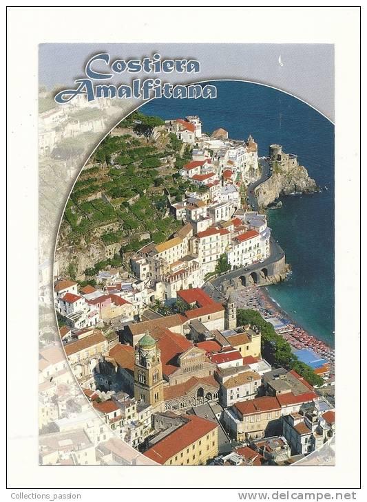 Cp, Italie, Amalfi, Vista Da Pogerola, écrite 2004 - Salerno
