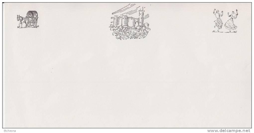= Pli Philatélique 7 Timbres Non Oblitérés Avec Carte à L'intérieur - 1971-80 Cartas