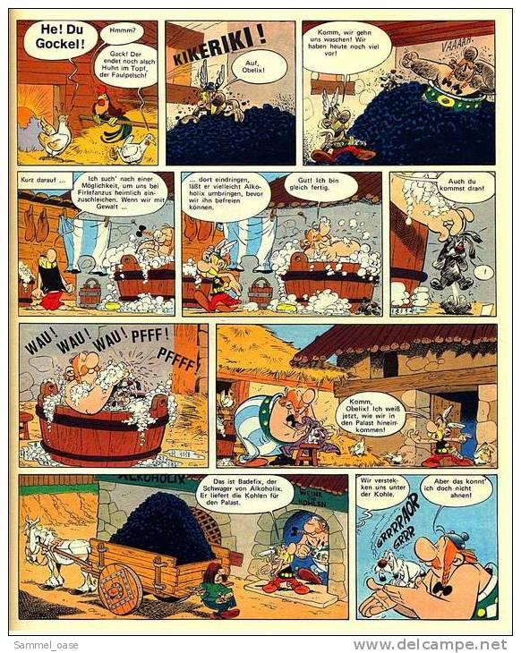 Asterix Heft Band 11 - Asterix Und Der Arvernerschild ( Erstausgabe 1972) - Asterix
