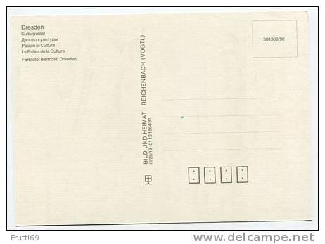 GERMANY - AK125860 Dresden - Kulturplatz - Doebeln