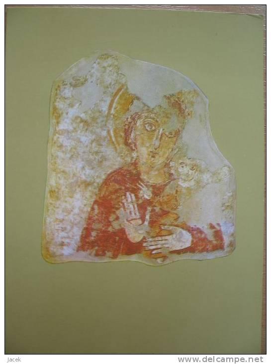 Madonna  /fresco From Faras / VIII Century /Sudan/ National Nuseum Warsaw - Vergine Maria E Madonne