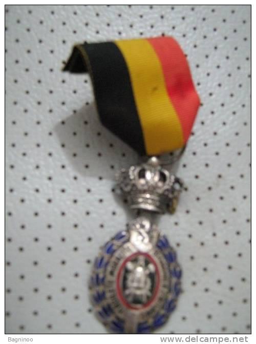 HABILETE MORALITE Belgium Medal 25 Years Of Labour - Belgien