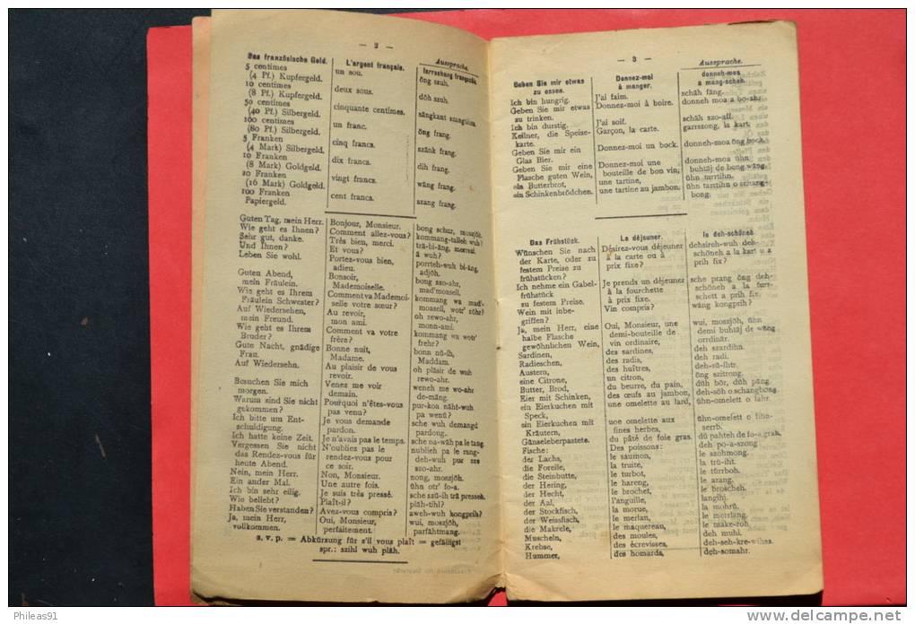 Polyglott Kuntz- Französisch - Guide Allemand-FrançaisGeorgis Polyglott Verlag - Lexiques