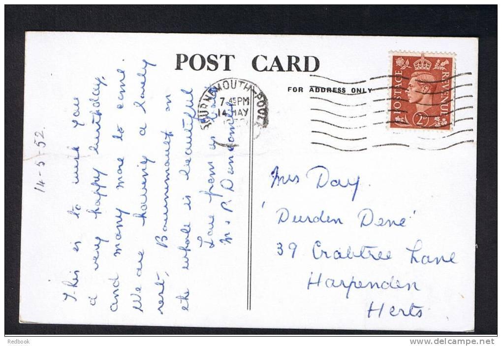 RB 885 - 1952 Real Photo Postcard - Arncott Hall - Poole Road Bournemouth Dorset Ex Hampshire - Bournemouth (until 1972)