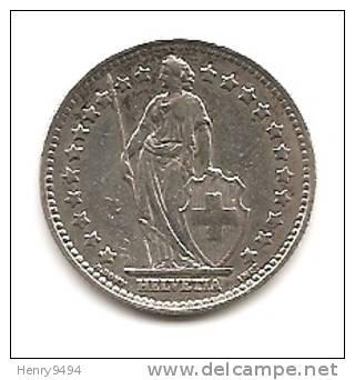 Lot Pièce 1 Franc Suisse Argent 1944 - Suiza