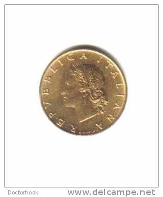 ITALY   20  LIRE  1972 (KM # 97.2) - 1946-… : Republic