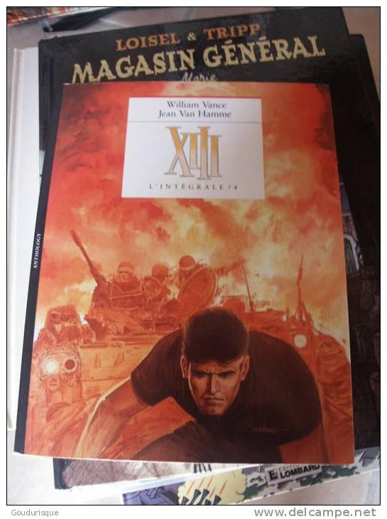 XIII L'INTEGRALE T4   VAN HAMME VANCE - XIII