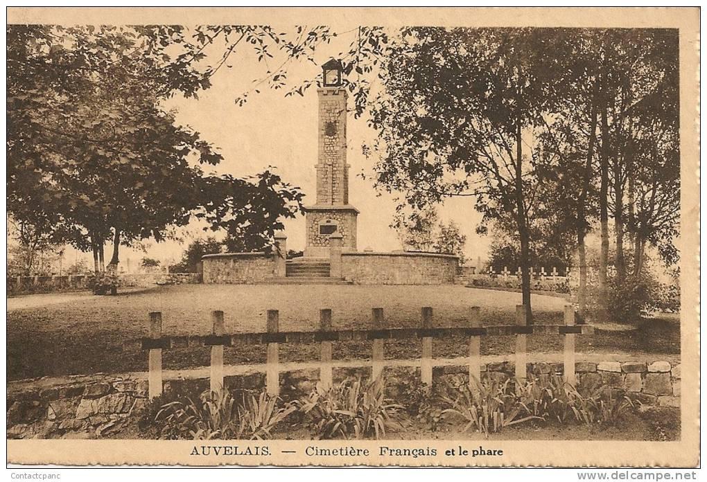 AUVELAIS  ( Belgique ) - Cimetière Français Et Le Phare - Unclassified