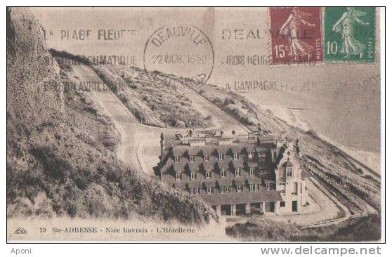 "ST ADRESSE ( .."" Nice.havrais""  L'...hotellerie ) - France"