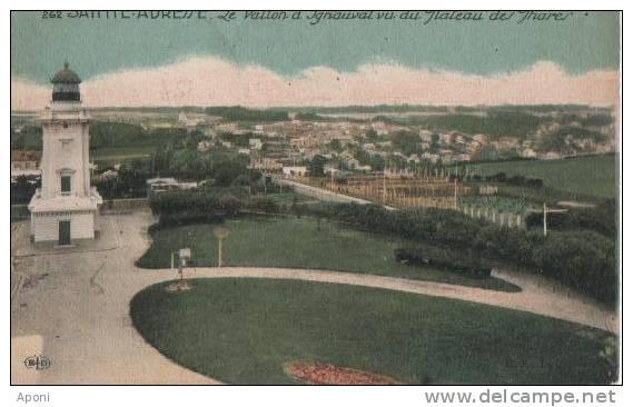 ST ADRESSE (.le Vallon D'ignauval Vu Du Plateau Des Phares )) - France