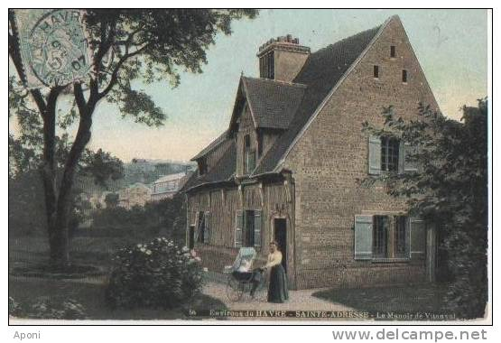ST ADRESSE ( .le Manoir Du Vitanval ) - France