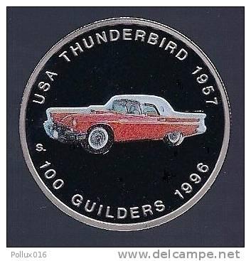 Surinam / Suriname 1996 100 Gulden Thunderbird 1957 - Zonder Classificatie