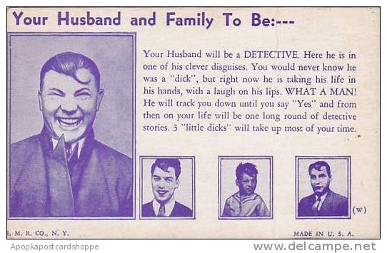 Fortune Telling Your Husband Will Be A Detective - Astrology