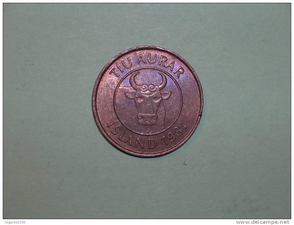 Islandia 10 Aurar 1981 (3830) - Islandia