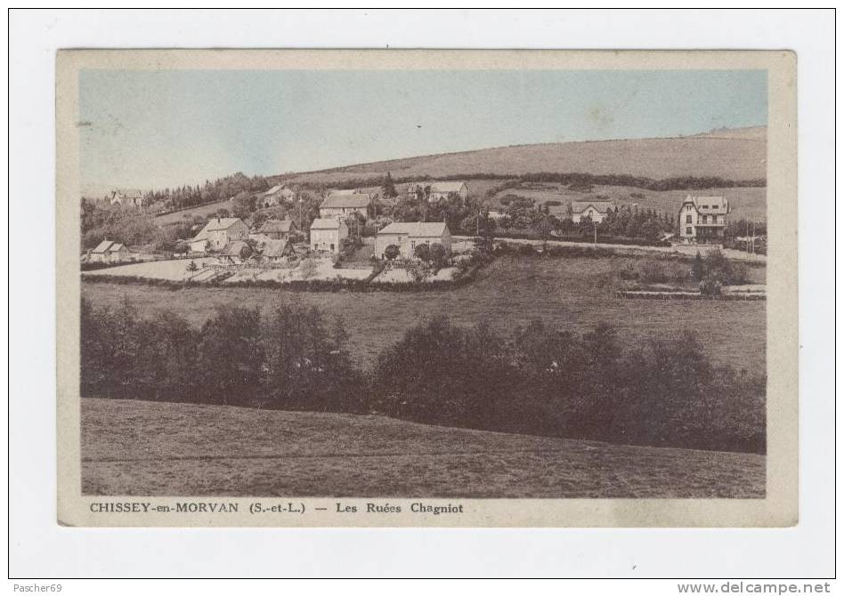 CHISSEY En MORVAN  71  - Les Ruées Chagniot  -   /  952 - Andere Gemeenten