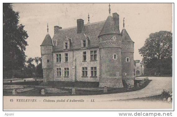 VEULETTES  ( Chateau Feodal D'auberville ) - France