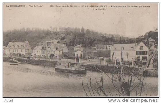 LE VAL DE LA HAYE ( Embarcadere ) - France
