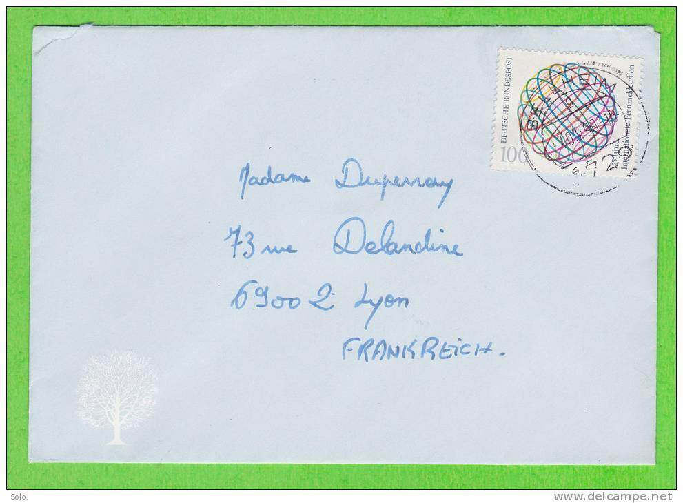 Sur Enveloppe - ALLEMAGNE - 1 Timbre - Storia Postale
