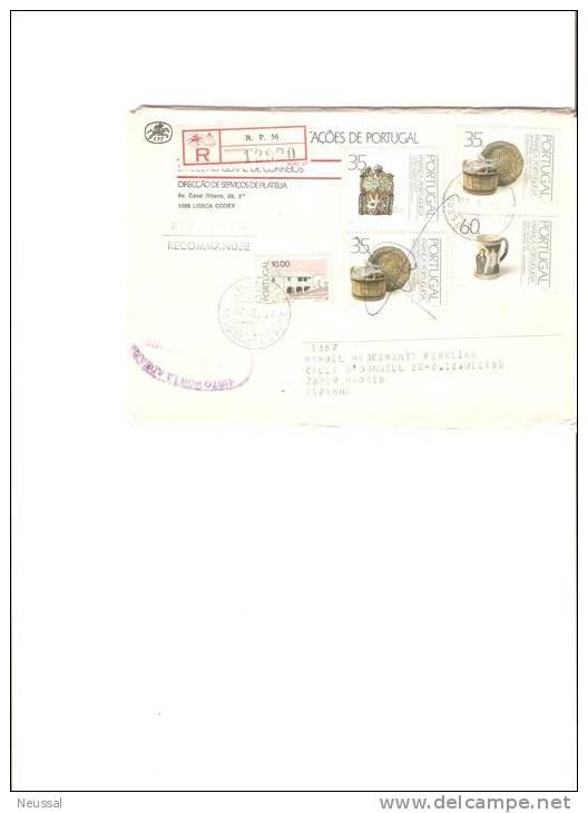 Carta De Portugal 1991 - 1910-... República