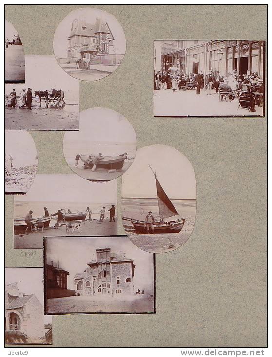 """Lions-sur-Mer Vers 1900 Vila """"La Bluette"""" Héctor Guimard Architecte 15 Photo 7 Scans - Le Style - Places"""