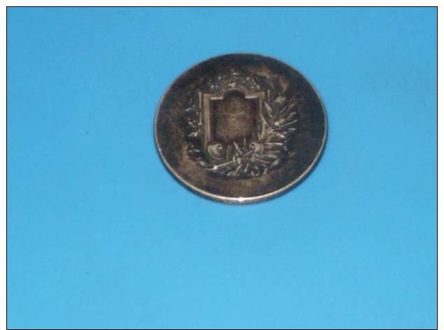 Medaille En ARGENT 14.7 Grammes La Course - Autres