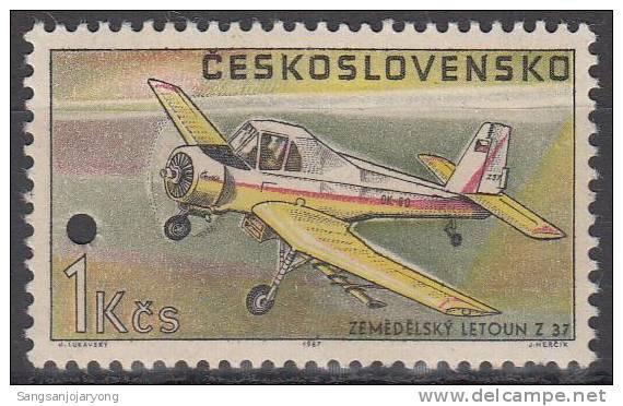 Specimen, Czechoslovakia ScC69 Crop-Spraying Plane Z-37, Avion - Avions