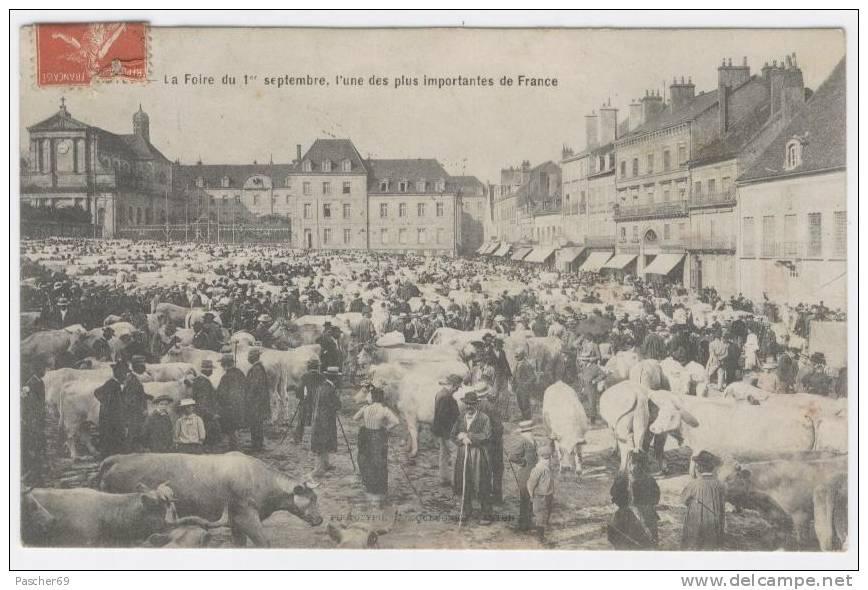 71 - AUTUN  - FOIRE DU 1er SEPTEMBRE   / 821 - Autun