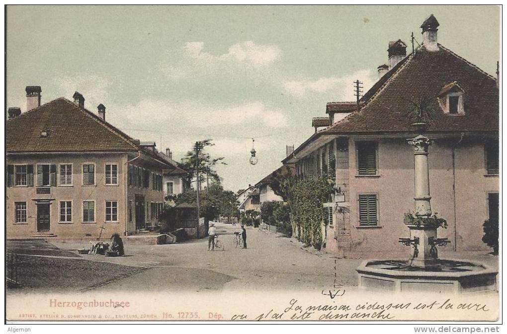 4643 - Herzogenbuchsee - BE Berne
