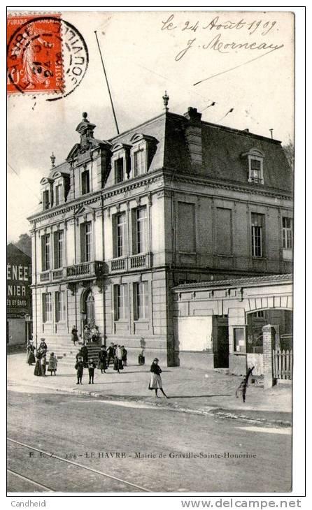 LE HAVRE - Mairie De Graville - Graville