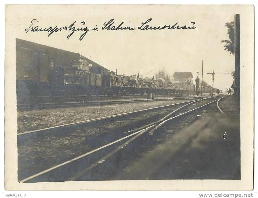 LAMORTEAU - Transportzug In Station Lamorteau - Weltkrieg - Feldpost - Rouvroy