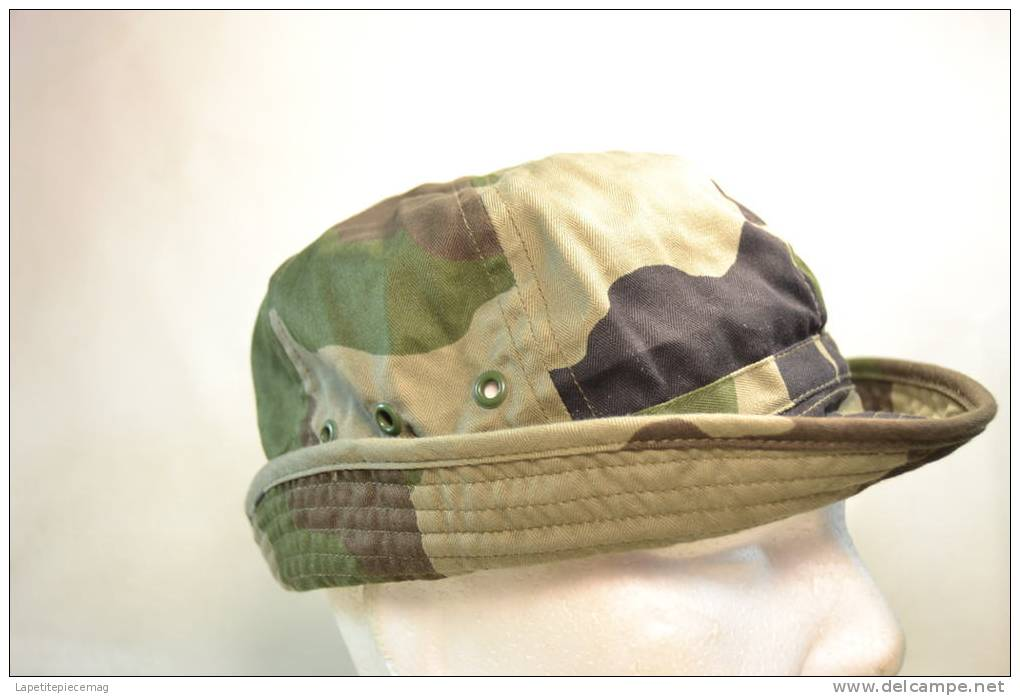 Chapeau / Bob Taille 57  Armée Française, Camouflé (forêt / Jungle) Airsoft Paintball Chasse Nature.. - Casques & Coiffures