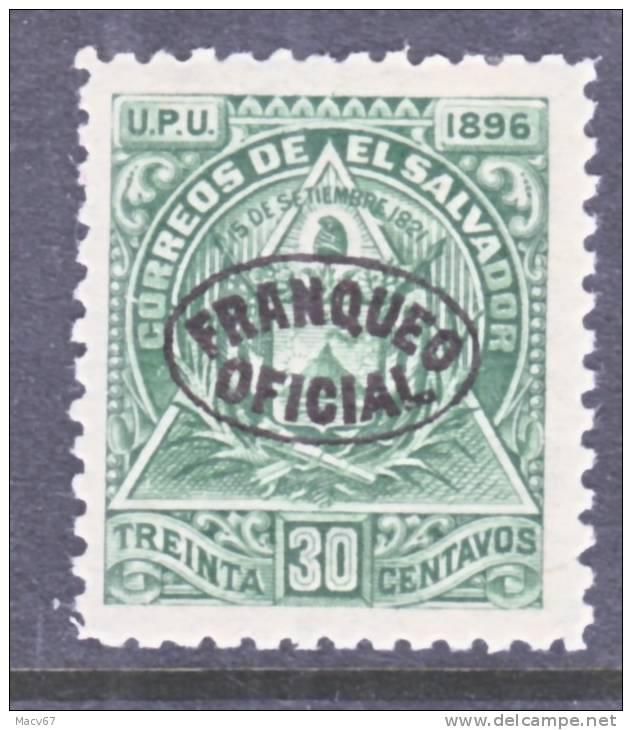 El Salvador O 22  *  Original  Wmk. - El Salvador